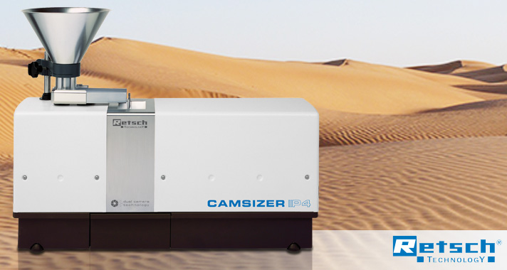 Particle size and shape analyzer CAMSIZER P4 - the new generation