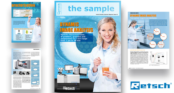 "Retsch Technology: ""the sample"" Magazine: Particle Characterisation with Dynamic Image Analysis"