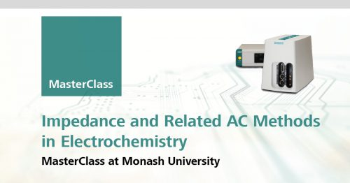 Electrochemical AC & Impedance MasterClass at Monash University