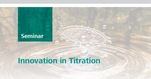Innovation in Titration