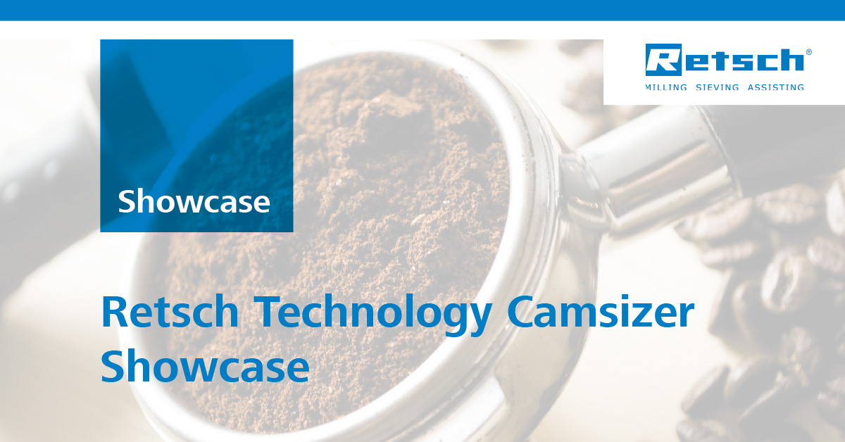 Retsch Technology Camsizer Showcase