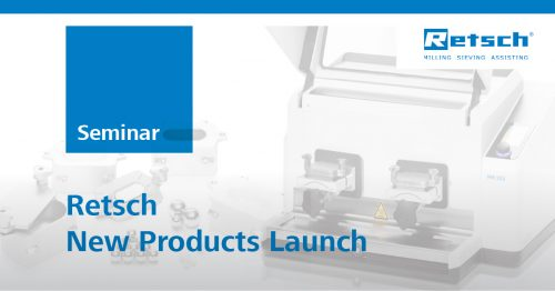 Retsch New Products Launch